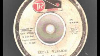 u roy & the gladiators- natty rebel extended with rebel version - tr groovemaster records-1976