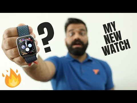 My Most Expensive Smartwatch - Apple Watch Series 4 Stainless Steel ⌚🔥🔥🔥