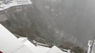 Heavy Snowfall Mata Vaishno Devi Darshan in Feb 2016