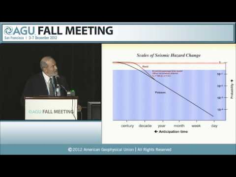 Gutenberg Lecture: S23C. Earthquake Forecasting as a System-Science Problem - 2012 AGU Fall Meeting