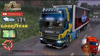Euro Truck Simulator 2 (1.35)   [1.8] Scania P Standalone (GT-Mike port) by Galimin Schwarzmuller Trailer Ownable DLC by SCS Software Road to Uppsala Scandinavia DLC by SCS + DLC's & Mods https://forum.scssoft.com/viewtopic.php?f=35&t=231647  Support me p