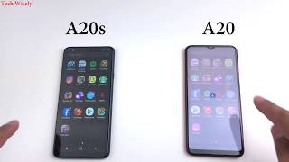 SAMSUNG A20s vs A20   is A20s better?