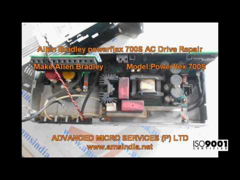 Allen Bradley powerflex 700S AC Drive Repairs @ Advanced Micro