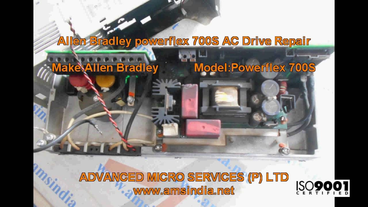 Allen Bradley powerflex 700S AC Drive Repairs @ Advanced Micro Services  Pvt Ltd,Bangalore,India