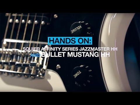 Squier Affinity Series Jazzmaster HH & Bullet Mustang HH - MusicRadar hands-on