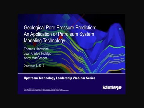 Geological Pore Pressure Prediction: An Application of Petroleum System Modeling Technology