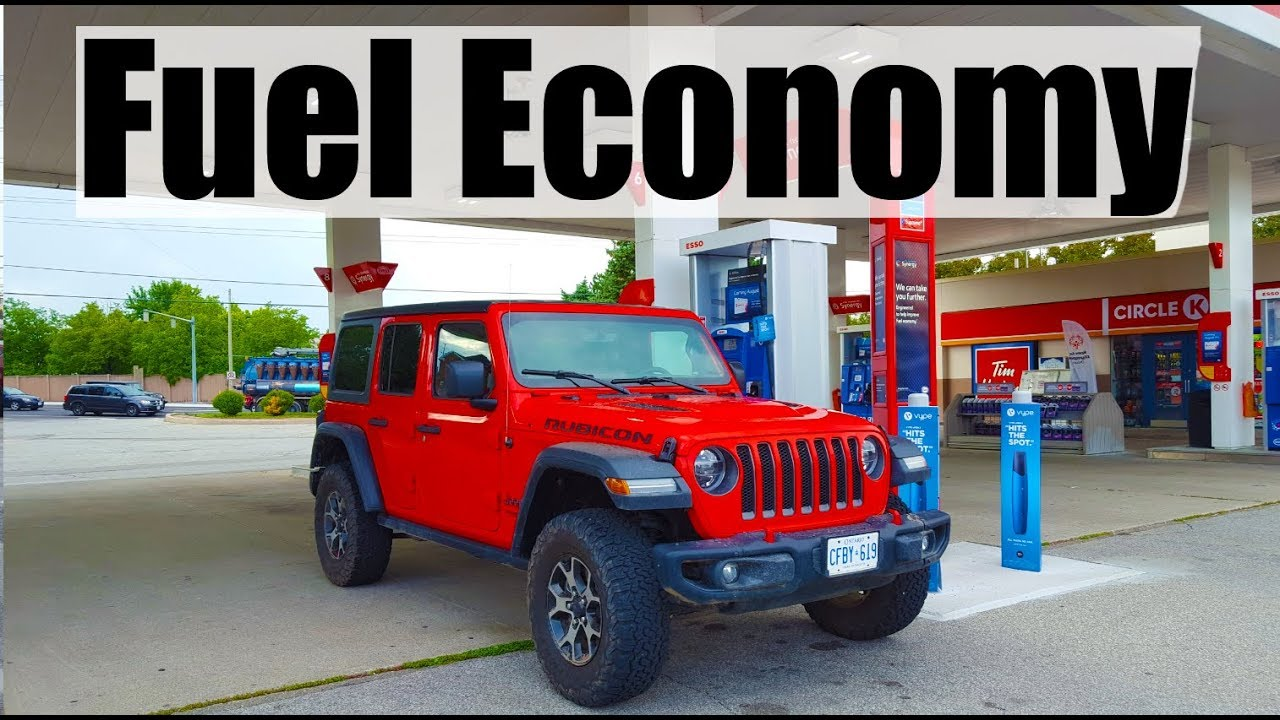 2019 Jeep Wrangler   Fuel Economy MPG Review + Fill Up Costs