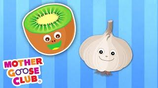 Apple to Zebra + More | Mother Goose Club Cartoons #NurseryRhymes