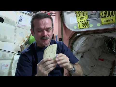 Chris Hadfield's Space Kitchen