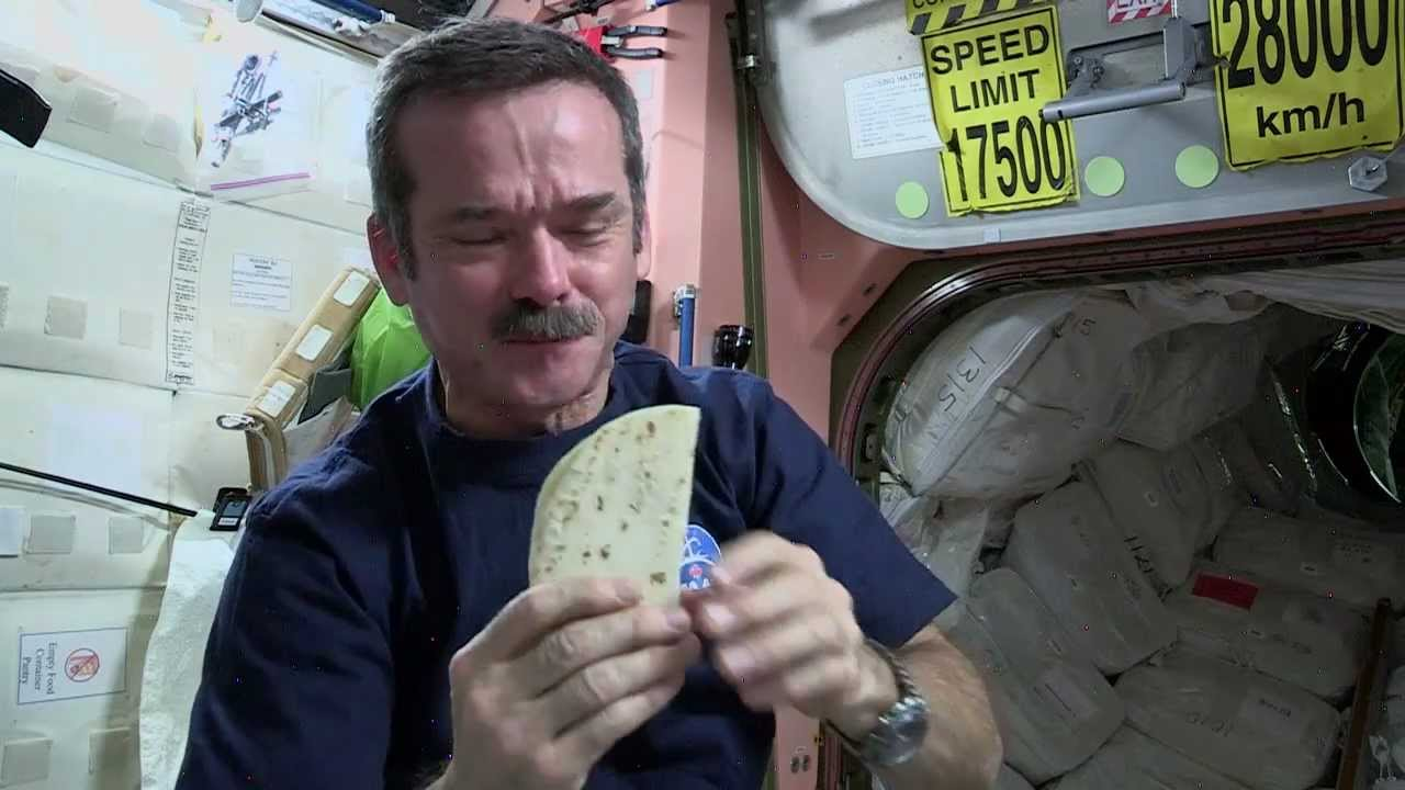 can astronauts eat in space suits - photo #7