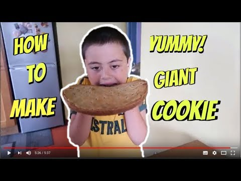 Jack's Giant chocolate chip cookie