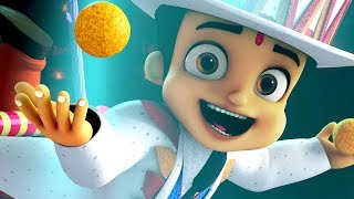 Chhota Bheem - Circus Jam Song ft. Sunidhi Chauhan | Kung Fu Dhamaka 10 May  In Cinemas