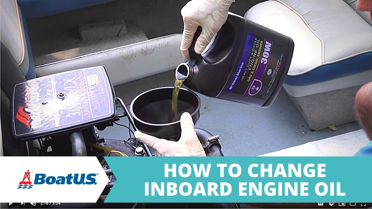 How to Change the Engine Oil in Your Boat | BoatUS