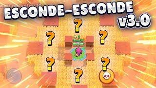 NOVO ESCONDE-ESCONDE NO BRAWL STARS! MINI GAME MUITO DIVERTIDO!