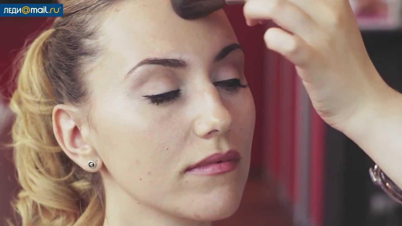 Фото на паспорт: правила макияжа - YouTube