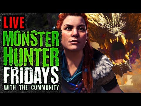 Monster Hunter World Event Quest Reset And Playing As Aloy