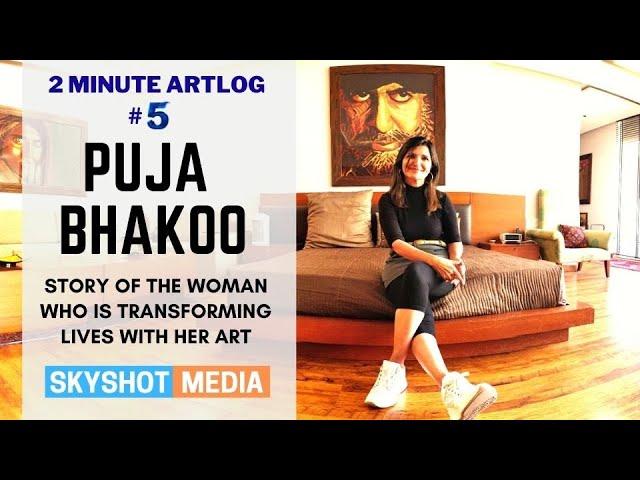 2 Minute Artlog #5 | Puja Bhakoo- Art with a Heart