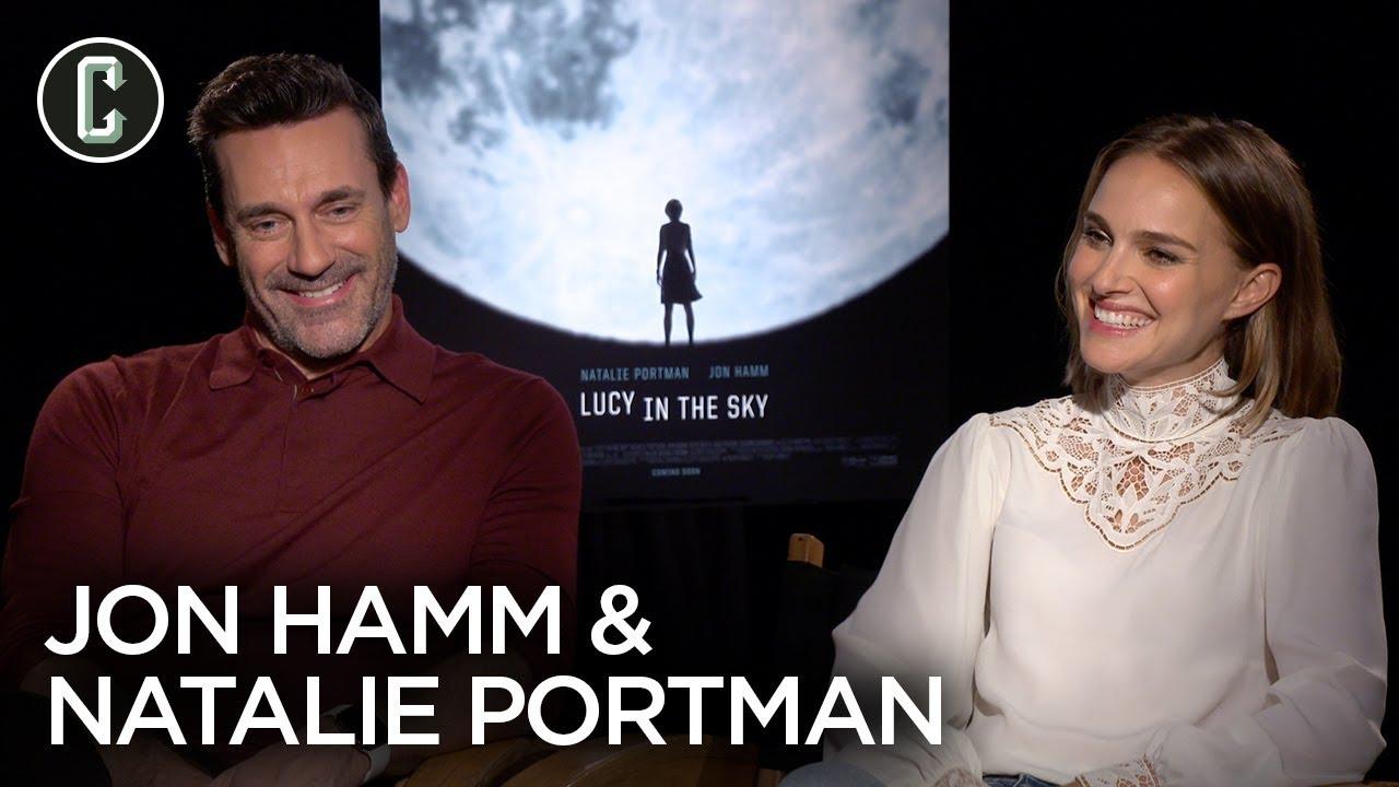 Lucy in the Sky: Natalie Portman & Jon Hamm Interview