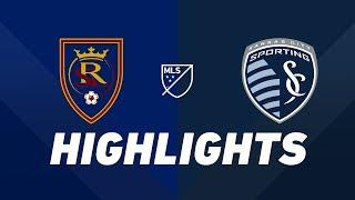 Real Salt Lake vs. Sporting Kansas City | HIGHLIGHTS - June 29, 2019