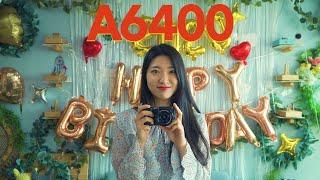 유튜브 브이로그 추천 카메라, 소니 A6400의 장단점
