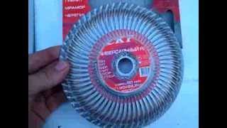 Обзор дисков для болгарки