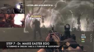 Bo2: Zombies *dr. Maxis *easter Egg* Achievement* *full Tutorial* Tower Of Babble!