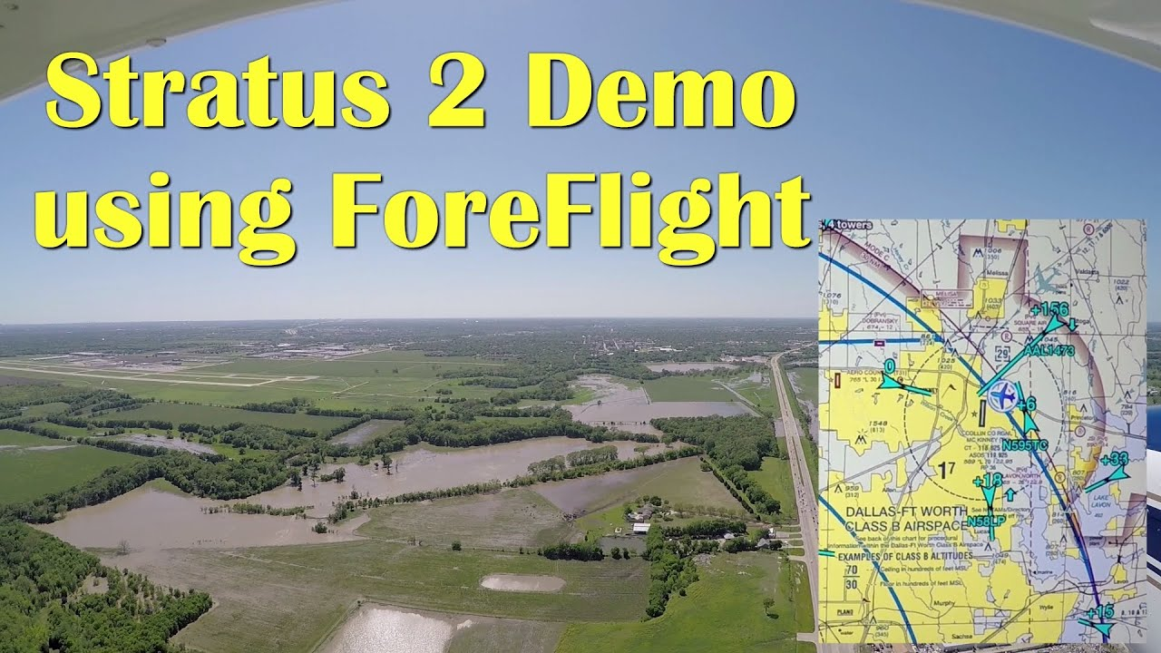 db793148ee7 ForeFlight Stratus 2 Demo on a Extreme Crosswind Day - YouTube