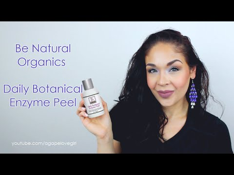 Be Natural Organics | Daily Botanical Enzyme Peel