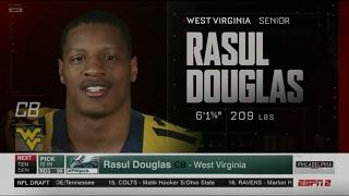 EAGLES SELECT RASUL DOUGLAS! 3rd round 2017 Draft *full*