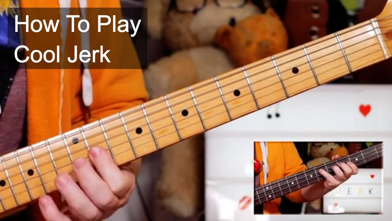 'Cool Jerk' The Capitols Guitar & Bass Lesson