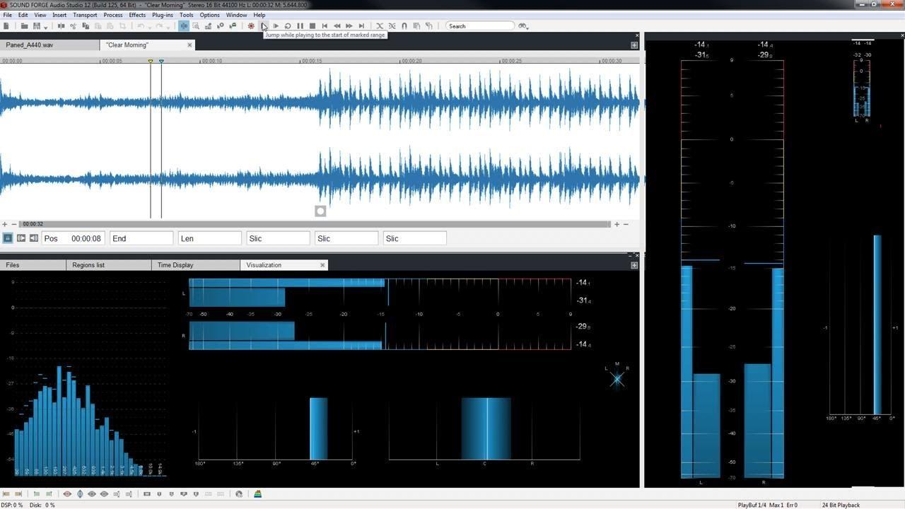 sonar sound forge