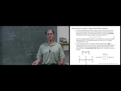 CVEN 5511 Introduction to Finite Element Analysis - Sample Lecture