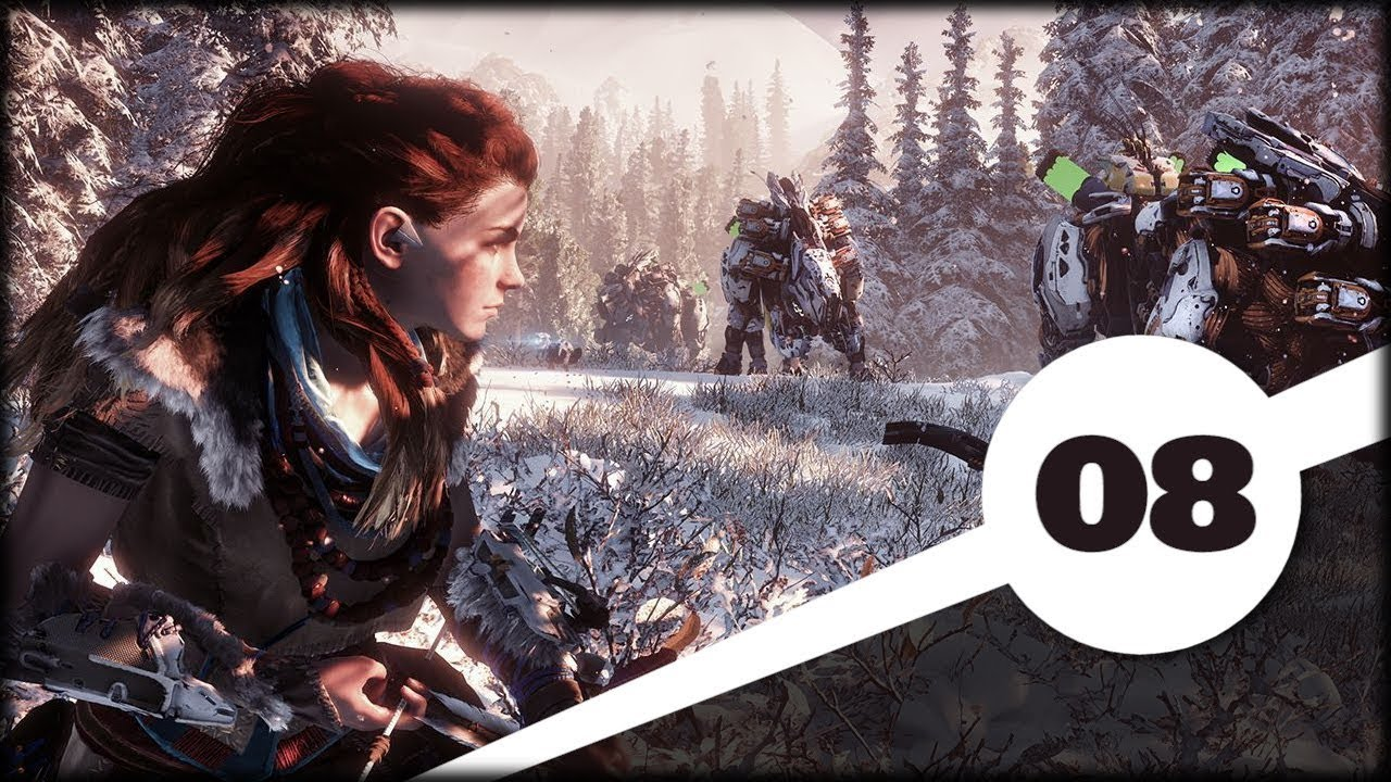 Horizon Zero Dawn: Frozen Wilds (08) Pożar