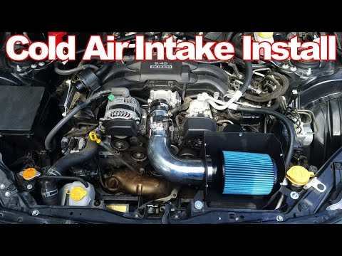 How to Install Cold Air Intake – Scion FRS, Subaru BRZ, & Toyota 86