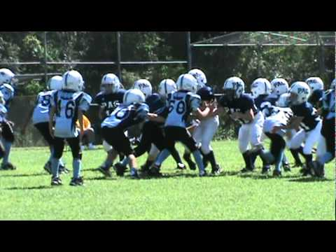 8 year old linebacker great tackle