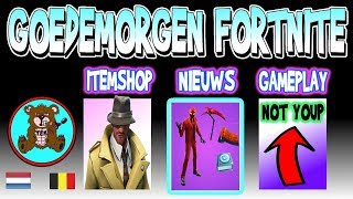 GOOD MORNING FORTNITE | ITEM SHOP May 1 | INFERNO pack Teamepicnine (TEN) Fortnite News Netherlands