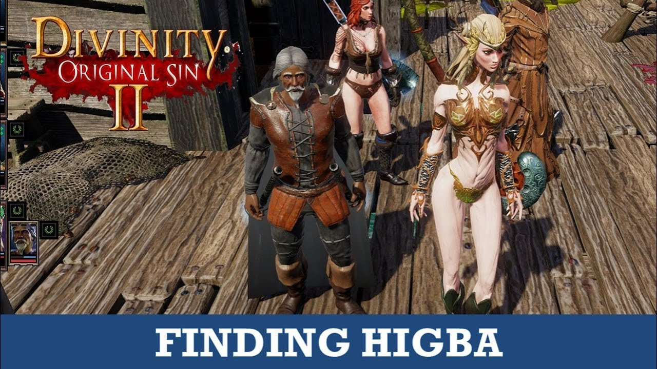 Higba's location (Where to find Higba) (Divinity Original Sin 2)