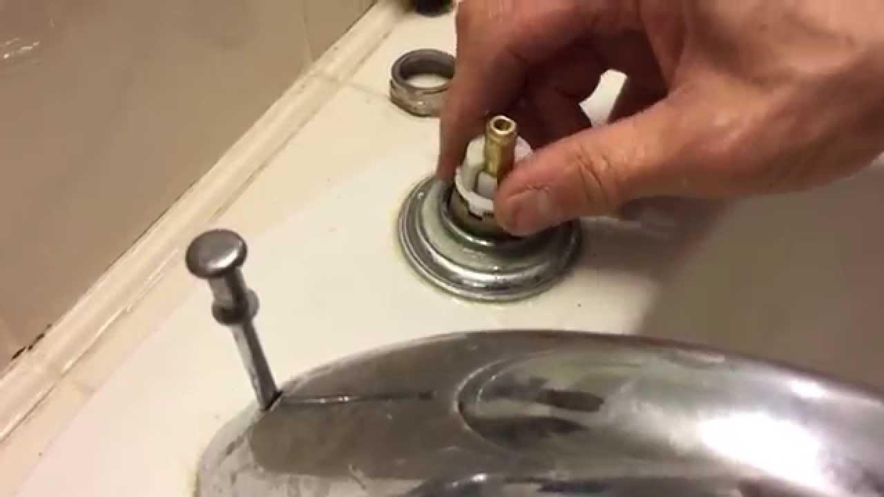 tutorial delta faucet cartridge replacement