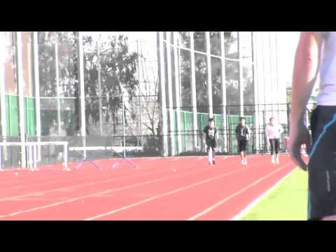 James Lick Track 300m hurdle workout