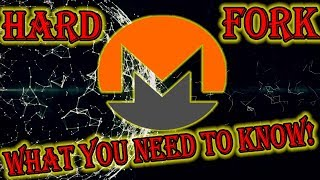 Monero Hard Fork CryptoNight V8  - What you need to know!