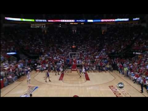 Aaron Brooks Buzzer Beating Alley Oop Lay Up From Ron Artest Vs Lakers