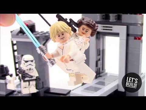LEGO Star Wars: Death Star Escape 75229  - Let's Build!