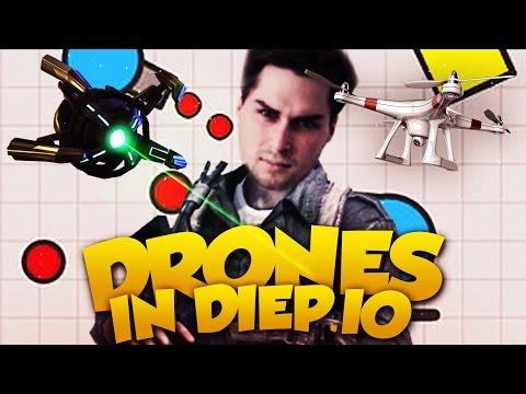 DRONES IN DIEP.IO!