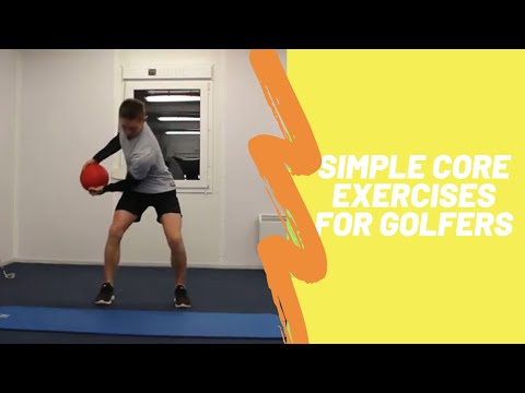 Golf Fitness Five in 5: Simple Core/Abs Exercises for Golf