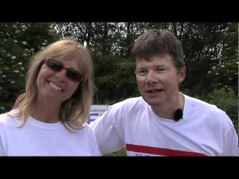 Daily Record online video of Deafblind Scotland's Tandem Challenge