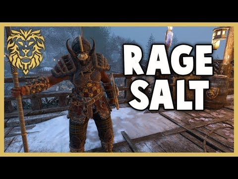 """[For Honor] """"Salt-Mode Activated"""" - Valkyrie Gameplay"""
