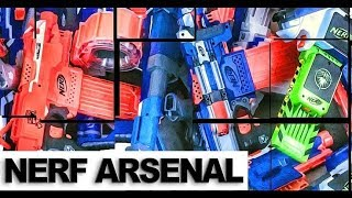 Nerf Arsenal showcase