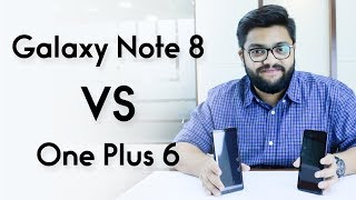 Note 8 VS Oneplus 6 | Comparison & Review | Urdu/Hindi | Telemart.pk