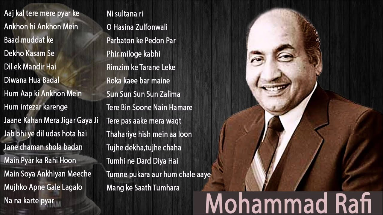 Best Of Mohammad Rafi Hit Old Superhit Songs