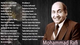 Best of mohammad rafi songs aajkal tere mere pyar ke charche ankhon hi mein baad muddat ye ghadi aayee dekho kasam se dil ek mandir hai diwana hua ...